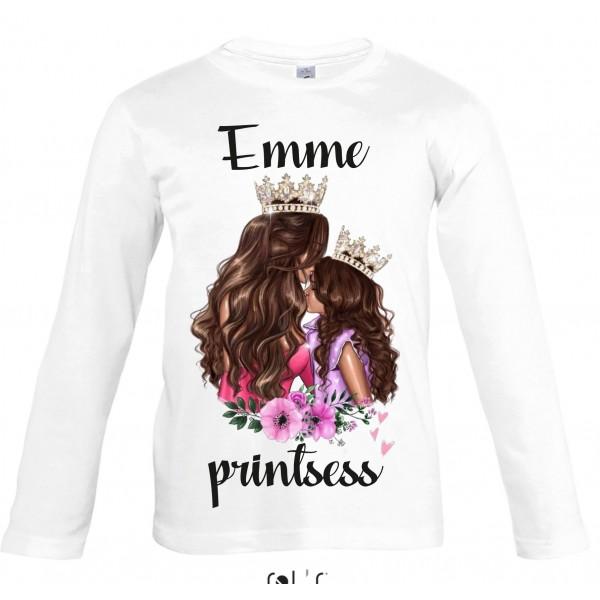 Emme printsess pikkade varrukatega  T-särk