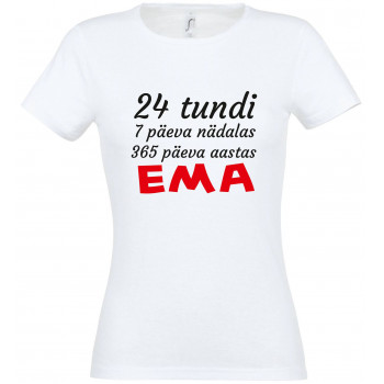 24 tundi 7 päeva nädalas 365 päeva aastas EMA