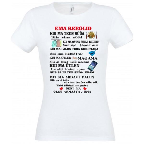 Ema reeglid T-särk