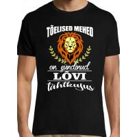 Tõelised mehed on sündinud Lõvi tähtkujus T-särk