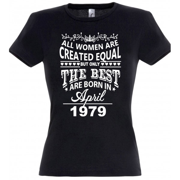 All women are created equal but only the best are born in