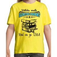 Mileks mulle kasutusjuhend mul on ju EMA T-särk