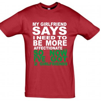 My girlfriend says i need T-särk