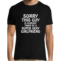 Sorry this guy is already  thaken by a super sexy girlfrend t-särk