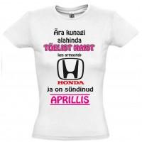 Ära kunagi alahinda tõelist naist kes armastab Honda ja on sündinud