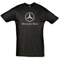 Mercedes Benz logoga T-särk