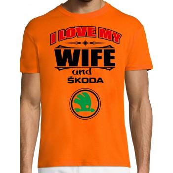I love my wife and Škoda T-särk