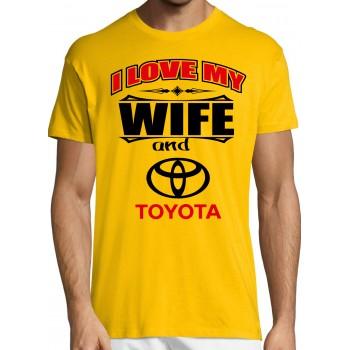 I love my wife and Toyota T-särk