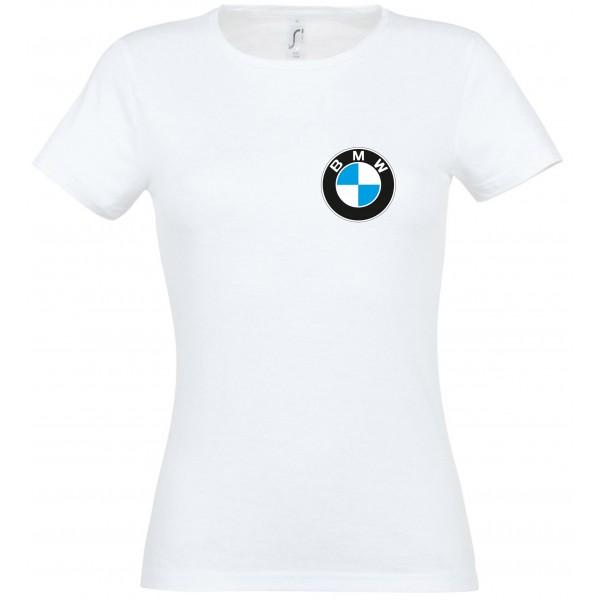 BMW logoga T-särk