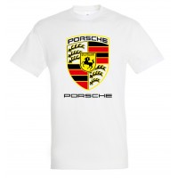 Porsche logoga T-särk