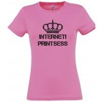 Interneti printsess T-särk