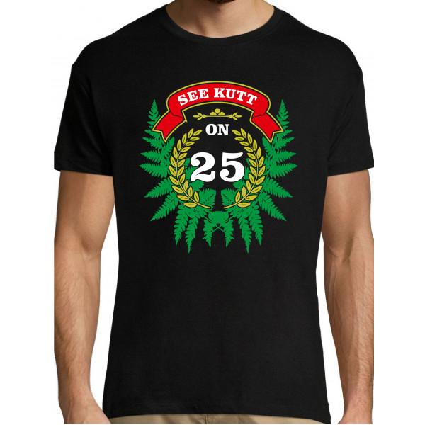See kutt on ... 25 (vali vanus) T-särk