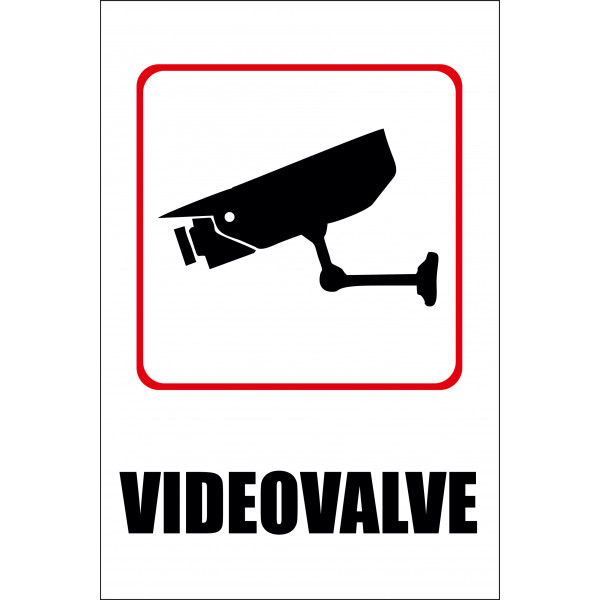 Videovalve  20 x 30 cm / PVC alusel