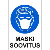 Maski soovitus 20 x 30 cm / PVC alusel