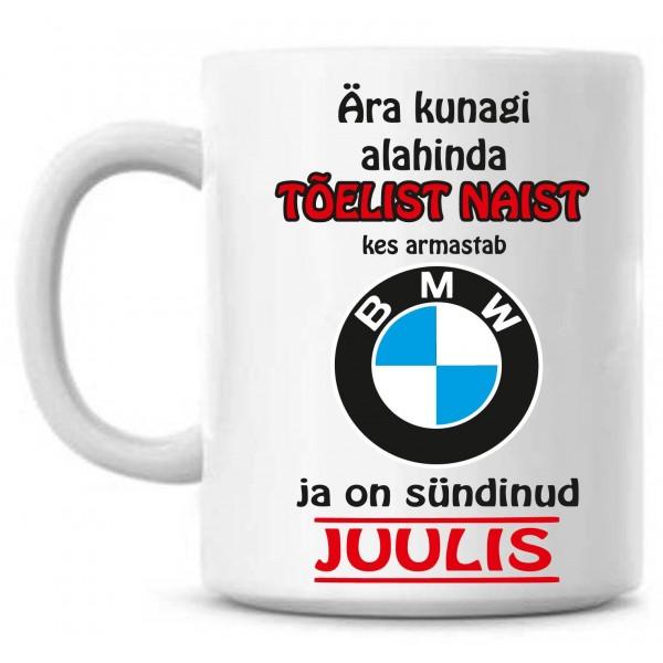 Ära kunagi alahinda tõelist naist, kes armastab BMW ja on sündinud tass