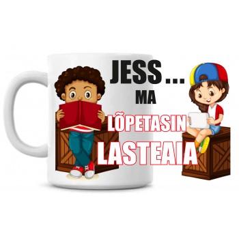 Jess! Ma lõpetasin lasteaia tass