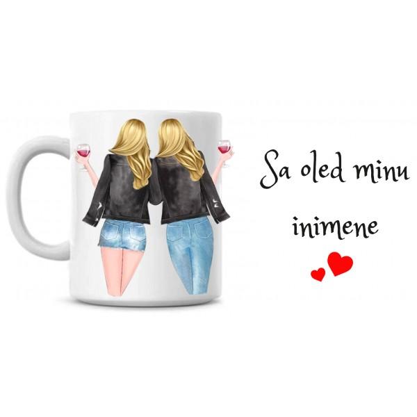 Sa oled minu inimene 2 blondi tass