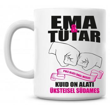 Ema ja tütar tass