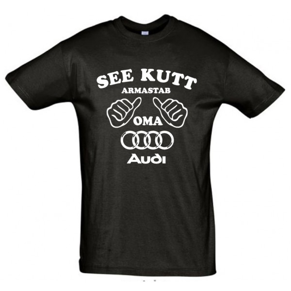 See kutt armastab oma Audi